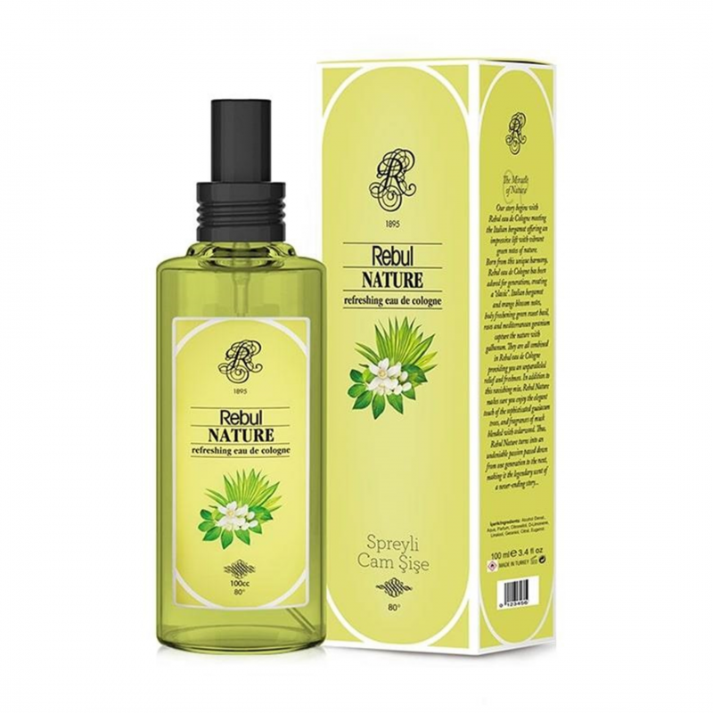 Rebul Nature 100 ml Sprey Kolonya