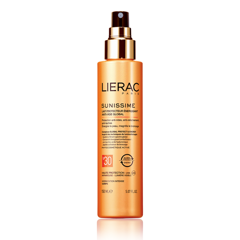 Lierac Sunissime Energizing Protective Milk SPF 30 150 ml