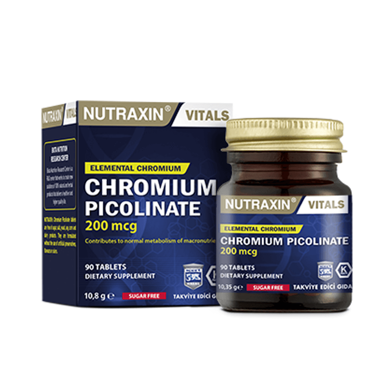 Nutraxin Chromium Picolinate 90 Tablet