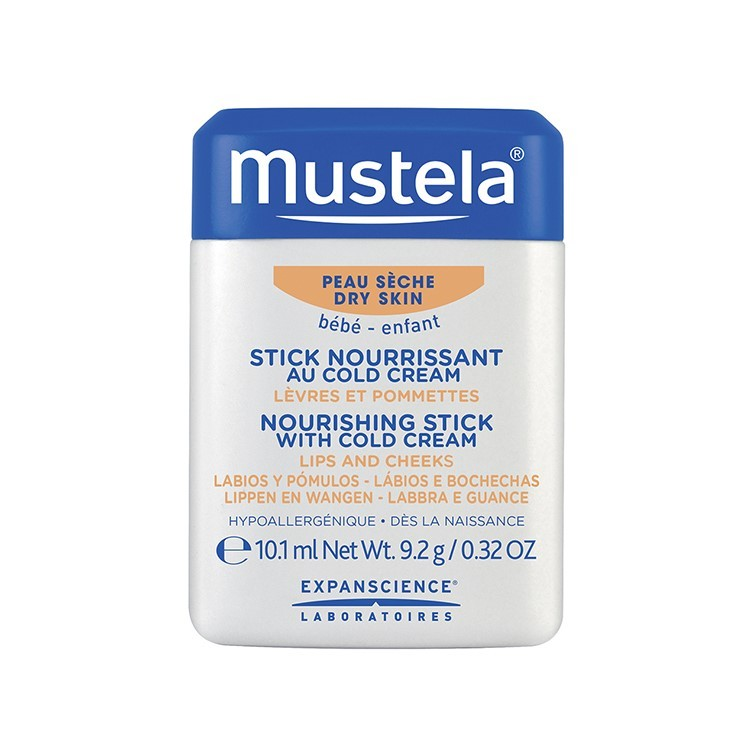 Mustela Nourishing Stick with Cold Cream 10 ml