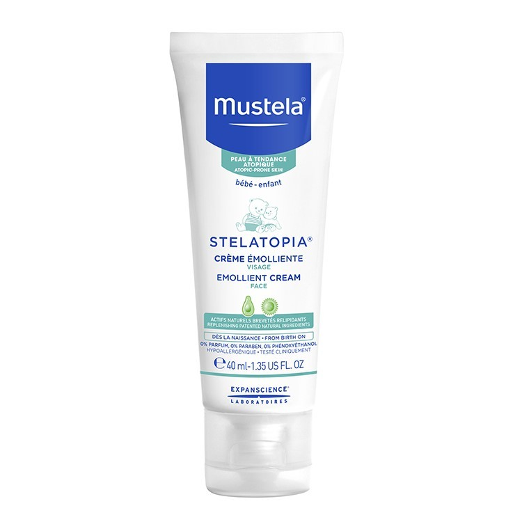 Mustela Stelatopia Emollient Face Cream 40 ml