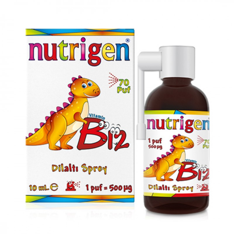 Nutrigen Vitamin B12 Sprey 10 ml