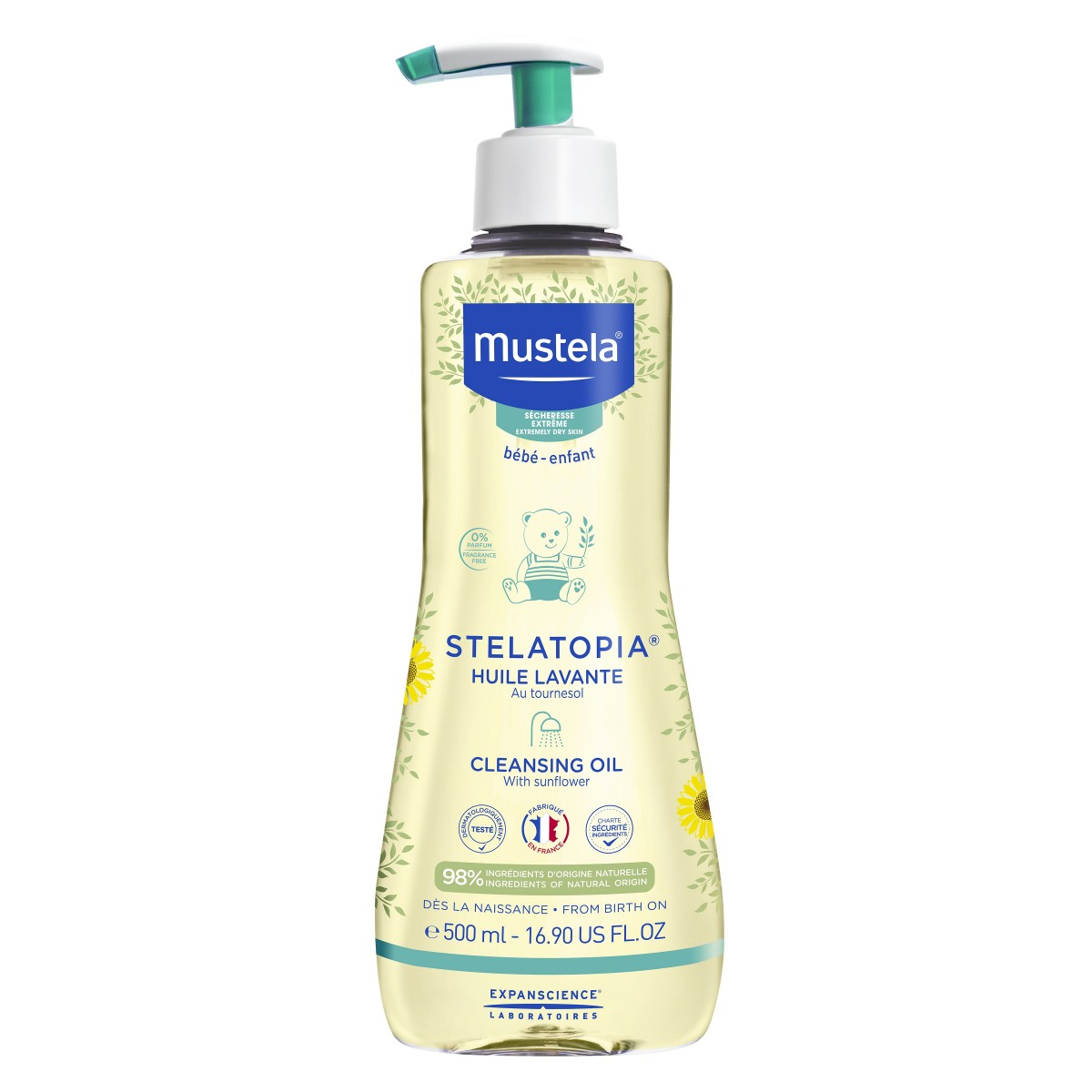 Mustela Stelatopia Cleansing Oil 500 ml