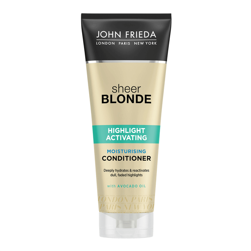 John Frieda Sheer Blonde Highlight Activating Moisturising Conditioner 250 ml