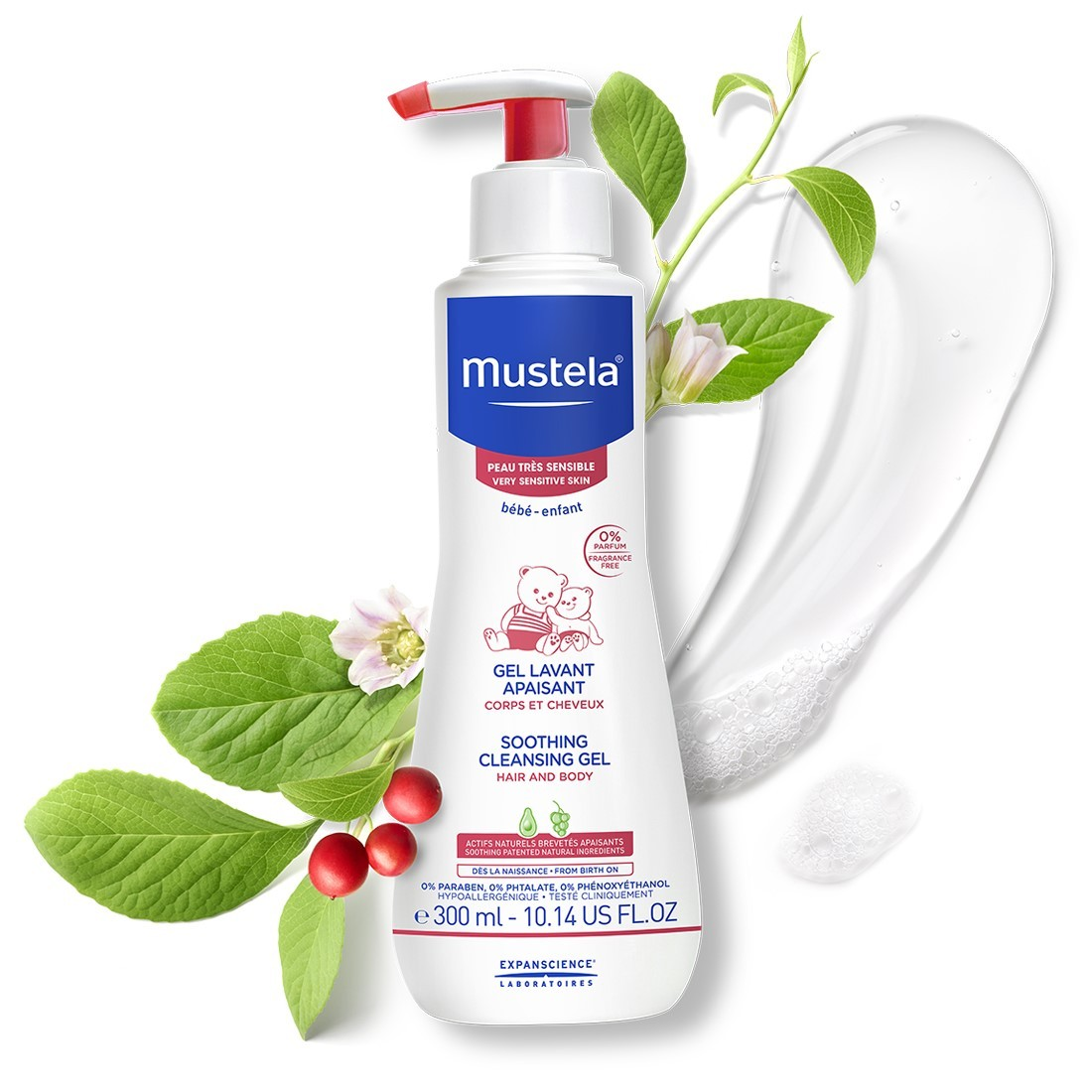 Mustela Soothing Cleansing Gel 300 ml
