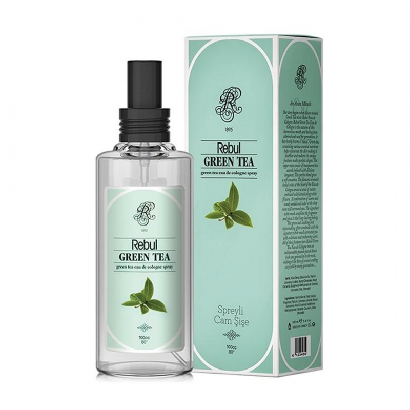 Rebul Green Tea 100 ml Sprey Kolonya