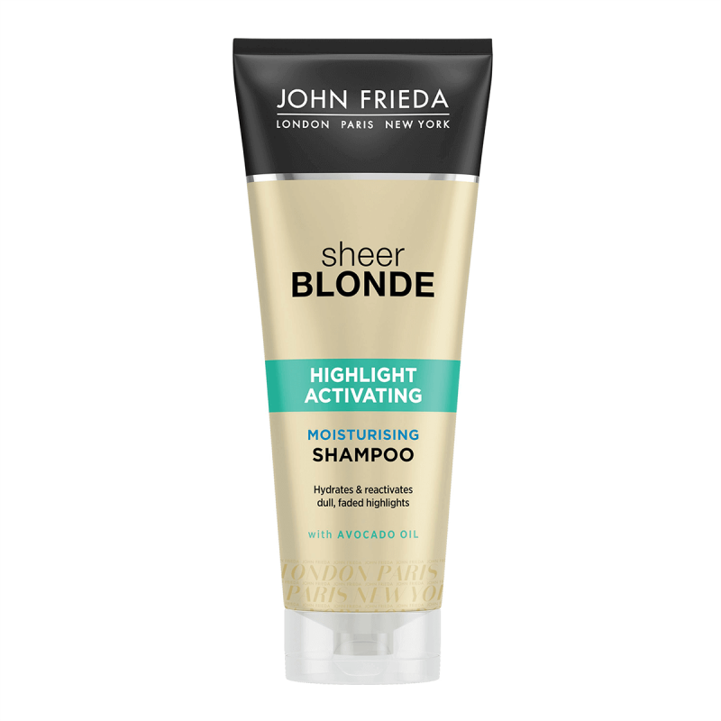 John Frieda Sheer Blonde Highlight Activation Moisturising Şampuan 250 ml