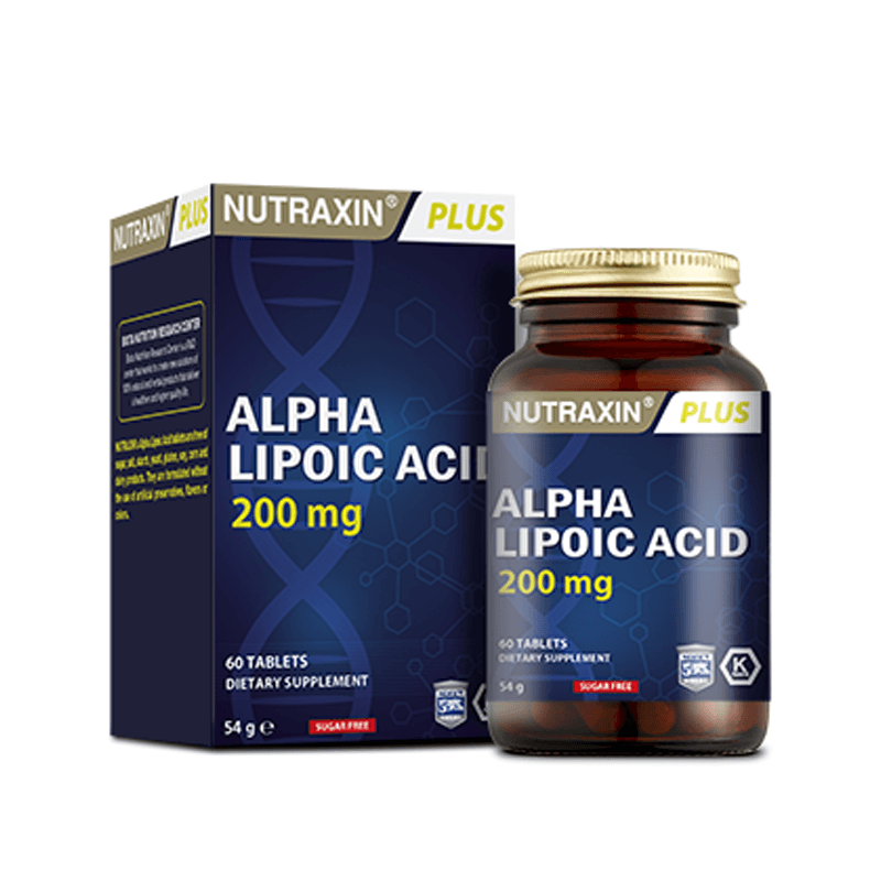 Nutraxin Alpha Lipoic Acid 200 mg 60 Tablet