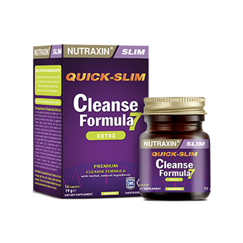 Nutraxin Cleanse Formula 7 14 Tablet