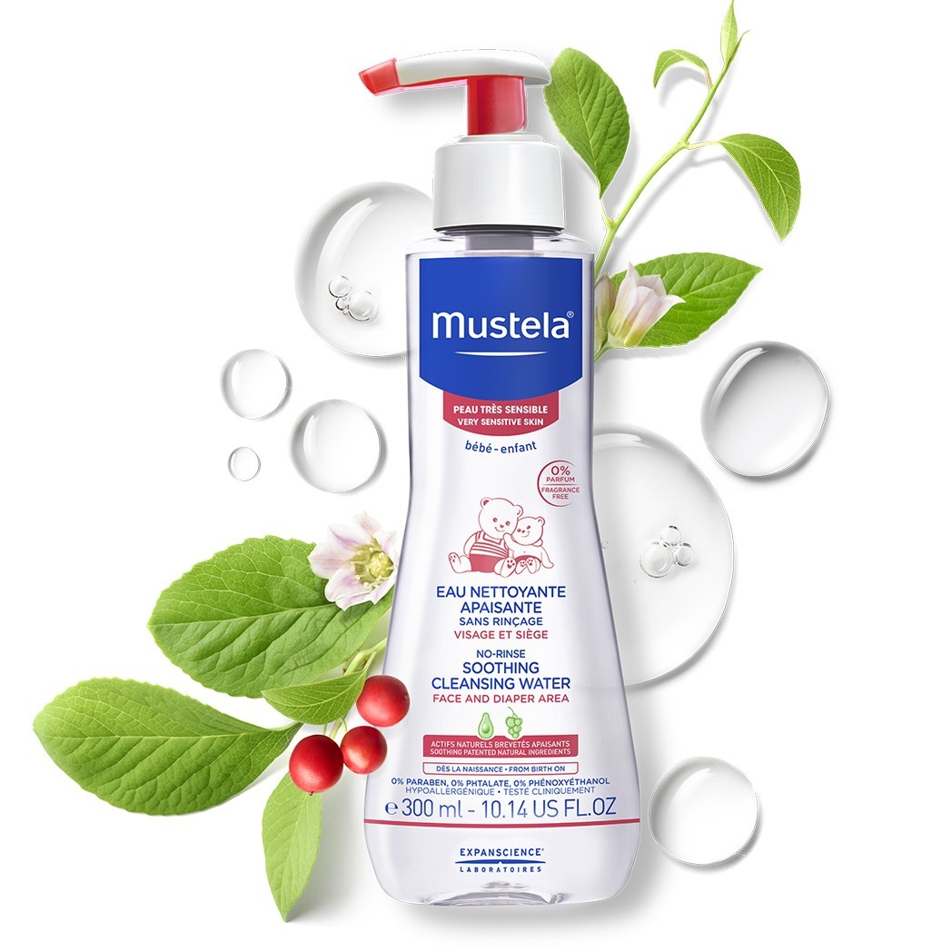 Mustela No Rinse Soothing Cleansing Water 300 ml