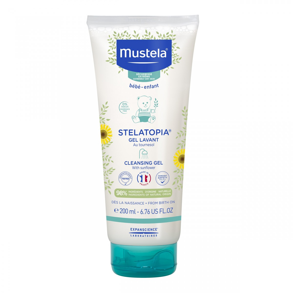 Mustela Stelatopia Cleansing Cream 200 ml