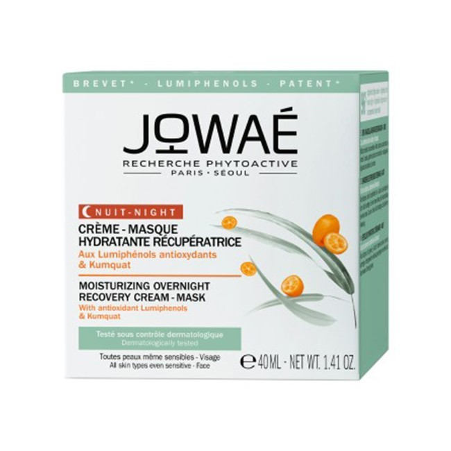 Jowae Moisturizing Overnight Recovery Cream Mask 40 ml